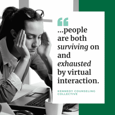 """Your Reaction to """"The New Normal"""": Connecting Virtually"""